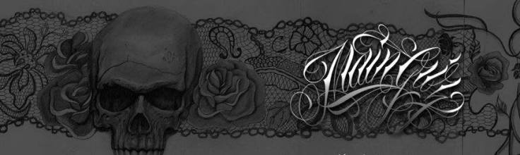 roses and sexy lace garter tattoo design