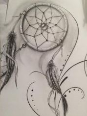 dreamcatcher tattoo design