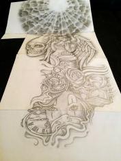 sleeve tattoo design