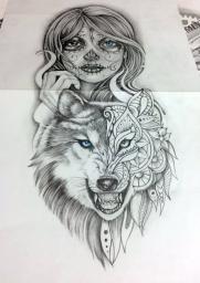 170904 Wolf Catrina