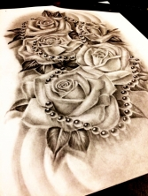 rose tattoo design