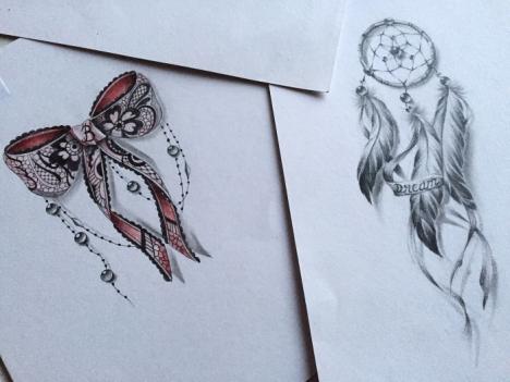 Sexy tattoo design idea for woman by Maingriz.com