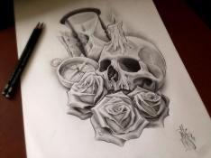 skull sandhur kompass
